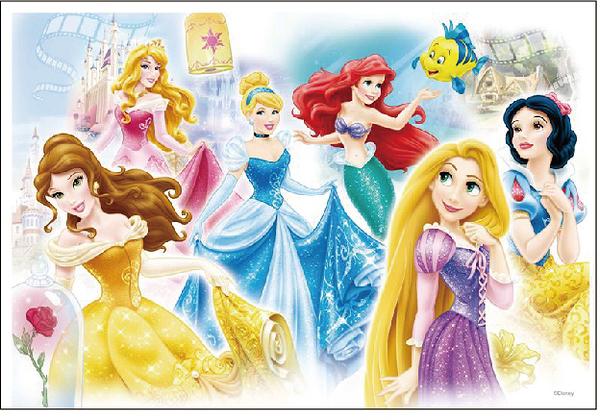 【P2 拼圖】迪士尼 Disney 公主 (300片) HPD0300S-039