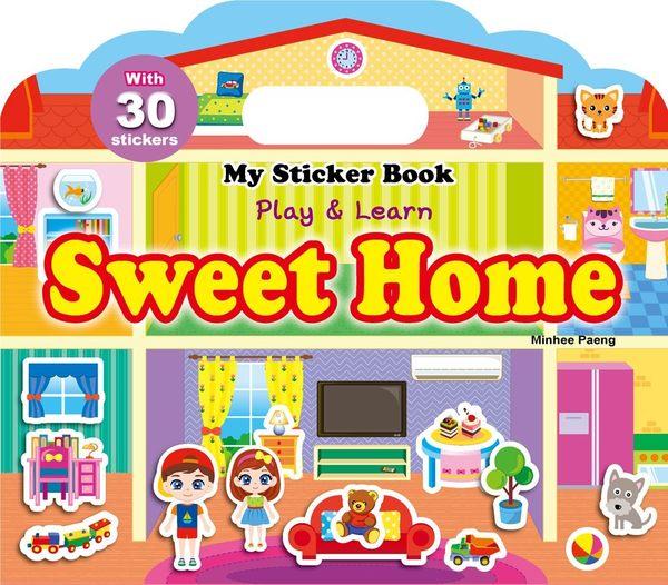 My Sticker Book:Sweet Home (手提貼紙書英文版:家)