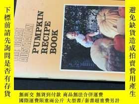 二手書博民逛書店pumpkin罕見recipe bookY258675