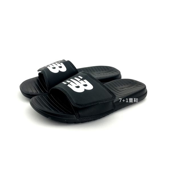 NEW BALANCE SD230BK 輕量 運動休閒拖鞋《7+1童鞋》9378 黑色