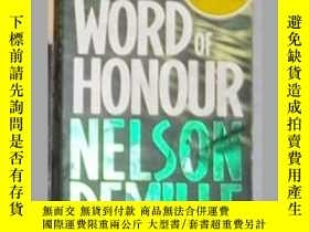 二手書博民逛書店英文原版罕見Word of Honour [ Nelson De