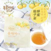 韓國 花果園 蜂蜜柚子茶 (15入) 390g 柚子球 蜂蜜柚子 沖泡 即沖 沖泡飲品 韓國柚子茶