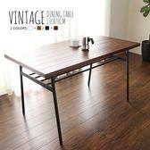 日系工業風長型餐桌-2色/Vintage(SH6/2000085-130金屬餐桌)【DD House】