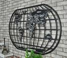 LOFT工業風世界地圖(100公分)鐵藝金屬壁牆裝飾 辦公室.酒吧.餐廳.居家鐵皮掛畫掛飾 (限宅配寄送