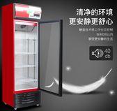 英聯瑞仕飲料櫃超市冰箱立式冰櫃商用展示櫃冷藏單門雙門保鮮櫃igo 【Pink Q】
