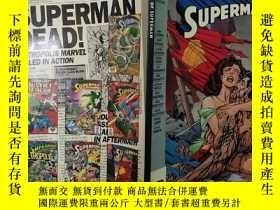 二手書博民逛書店THE罕見DEATH OF SUPERMAN(英文原版 )DC COMICSY24355 DC COMICS