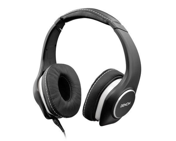 日本 DENON AH-D340 耳罩式耳機,適用於 Apple iPhone、Apple iPad 以及 Android 裝置
