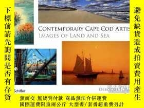 二手書博民逛書店Contemporary罕見Cape Cod Artists: