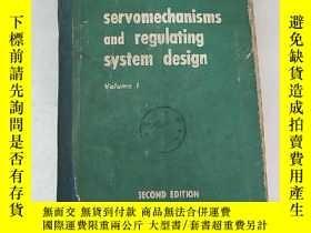 二手書博民逛書店servomechanisms罕見and regulating