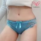 【Yurubra】魅力雪姬內褲。中腰 三角 性感 蕾絲 內褲 專區任兩件5折 台灣製。※R90