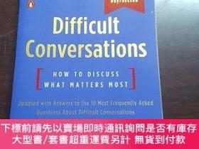 二手書博民逛書店Difficult罕見Conversations: How to Discuss What Matters Mos