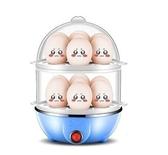 臺灣110v 多功能煮蛋器自動斷電小型1人蒸蛋器小家用蒸雞蛋機宿舍神器 城市科技