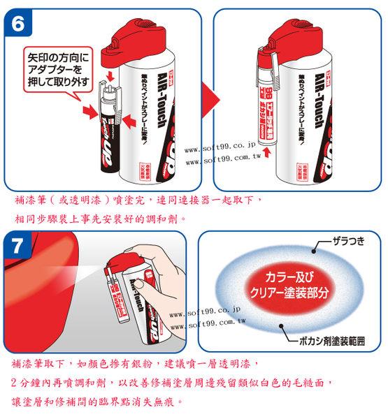 SOFT99 噴霧罐連接器-調和劑
