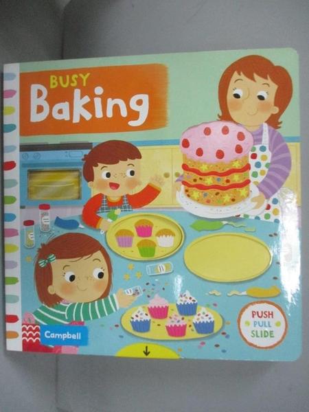 【書寶二手書T1/少年童書_LPU】Busy Baking_Louise Forshaw