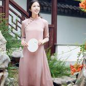 【熊貓】佛笑緣禪意茶服女裝夏款漢服中式改良唐裝
