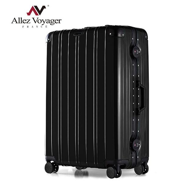 行李箱 鋁框箱 26吋 PC金屬堅固鋁框專利飛機輪 奧莉薇閣 無與倫比的美麗系列