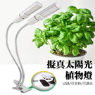 植物 植物燈 led燈泡 led燈 led燈具 led燈管 USB LED 植物補光 雙頭燈泡 led 植物燈