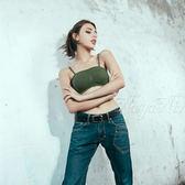 魅力舞動無縫透氣無鋼圈內衣S-XL(軍綠) 《生活美學》