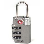 YESON 旅用海關三碼鑰匙鎖 MG-2510灰