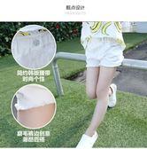 夏裝新品女童水洗毛邊牛仔短褲PLL4096【男人與流行】