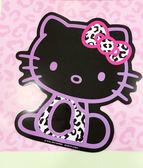 【震撼精品百貨】Hello Kitty 凱蒂貓~凱蒂貓 HELLO KITTY 車用大磁鐵-黑坐