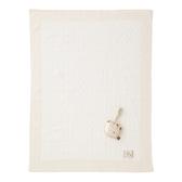 【奇哥】有機棉針織棉毯禮盒-洞洞厚款(毯子+安撫玩偶)