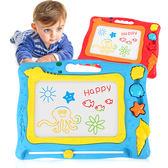 貝恩施畫畫板兒童磁性涂鴉小黑板1-2-3歲寶寶家用玩具彩色寫字板WY【快速出貨八折優惠】