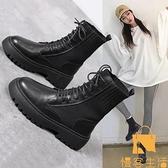 馬丁靴女單靴夏季時尚休閒薄款短靴【慢客生活】