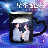 變色杯子馬克杯生日創意禮物diy魔術杯情侶教師節【米蘭街頭】