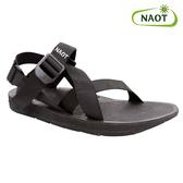 NAOT 男 越野運動涼鞋 Jungle 38502X10【黑色】/ 城市綠洲 (織帶、輕量、快乾、抑菌)