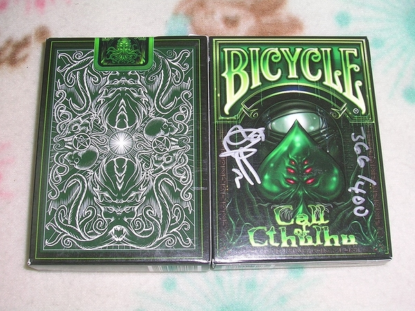 【USPCC 撲克】Call of Cthulhu - (Limited Signed & Numbered)
