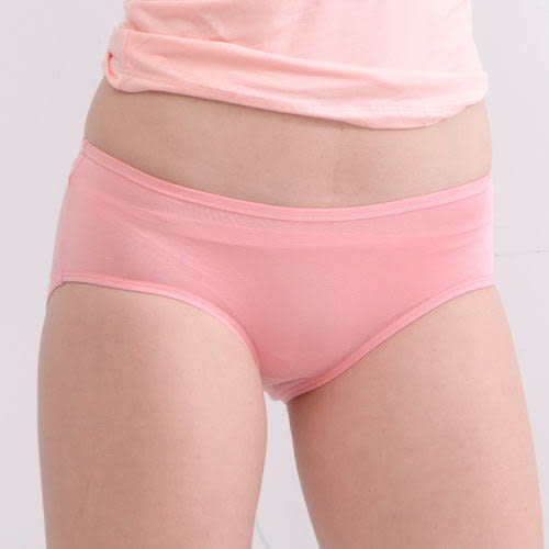 生理褲透氣舒適輕薄貼身包臀-粉 -波曼妮亞