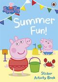 Peppa Pig:Summer Fun! Sticker Activity Book 佩佩豬的夏天 貼紙書