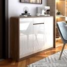 收納櫃 北歐餐邊櫃超薄櫃子客廳靠牆碗櫃家用廚房儲物櫃簡約置物櫃茶水櫃 618購物節