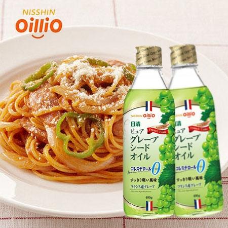 日本 日清 葡萄籽油 400ml 調味油 油 沙拉 醃製 料理 料理用油 調味
