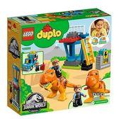 樂高積木 LEGO《 LT10880 》2018 年 Duplo 得寶系列 - 侏儸紀世界 -暴龍塔╭★ JOYBUS玩具百貨