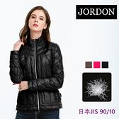 JORDON 時尚經典 超輕羽絨夾克 438 黑色