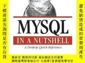 二手書博民逛書店Mysql罕見In A Nutshell (in A Nutshell)Y256260 Russell Dye