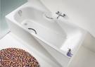 【麗室衛浴】德國 KALDEWEI Saniform Plus Star H-435-1 瓷釉鋼板浴缸(含雙把手) 180*80*43CM