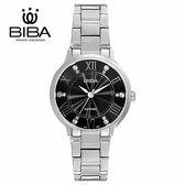 法國 BIBA 碧寶錶 經典系列 藍寶石玻璃 石英錶 B321S105B 黑色 - 24mm