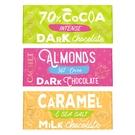 比利時CACHET凱薩巧克力40G (70%/杏仁醇黑/焦糖海鹽)