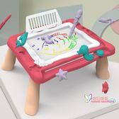 畫板 塗鴉板畫畫板寶寶玩具嬰兒益智智力早教兒童寫字板磁性幼兒磁性筆T