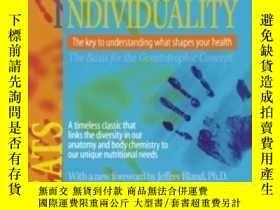 二手書博民逛書店Biochemical罕見IndividualityY364682 Williams, Roger J. Mc