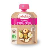 法國Babybio  有機蘋果洋梨纖果泥