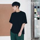 Doppler oversize 韓系寬鬆落肩素面圓領短T 短袖上衣【PAA118】現貨+預購