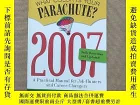 二手書博民逛書店What罕見Color Is Your Parachute 20