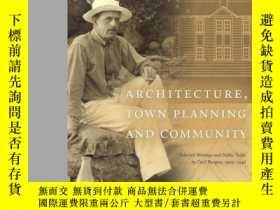 二手書博民逛書店Architecture,罕見Town Planning and