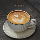 復古咖啡杯碟套裝手工日式拉花杯