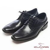CUMAR自信品味紳士皮鞋-黑