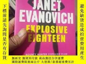 二手書博民逛書店Explosive罕見Eighteen ISBN:9780755